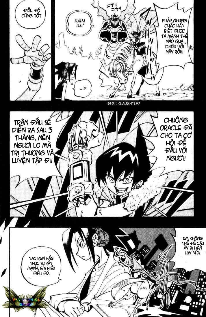 Shaman King [Vua pháp thuật] chap 47 trang 19