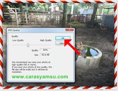 Cara Mengatur Quality Foto/Gambar di Photoscape