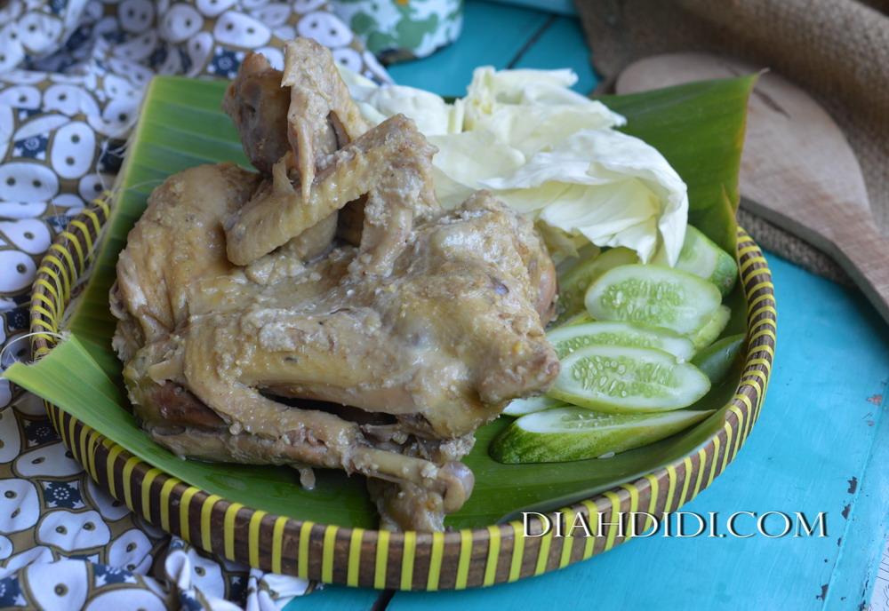 Diah Didi S Kitchen Sego Gurih Ingkung