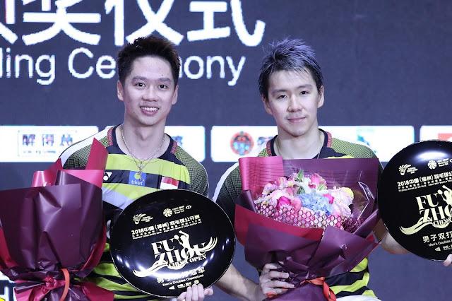 Sensasional Catatan Kevin/Marcus pasca-juara di Fuzhou