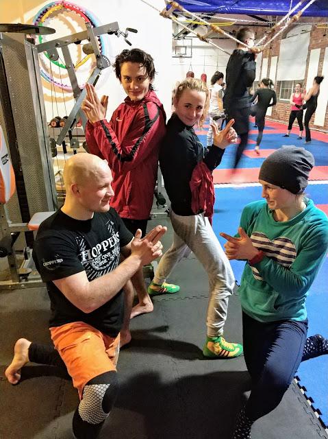 sport, kickboxing, ferie, Zielona Góra, zima, 2018, SKF Boksing Zielona Góra