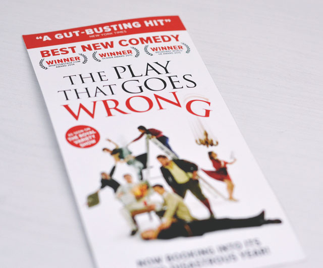 Review of The Play That Goes Wrong
