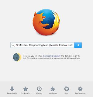 Mozilla Firefox Not Responding