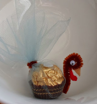 ferrero rocher turkeys-quick project