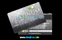 In thẻ thành viên tích điểm mã hóa từ VIP
