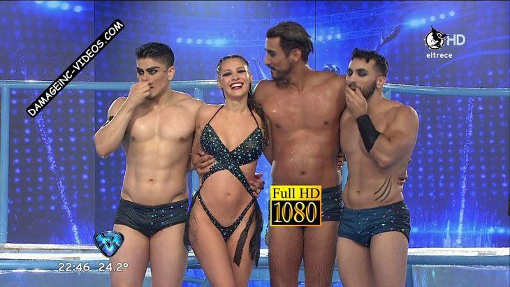 Pampita hot body in trikini damageinc videos HD