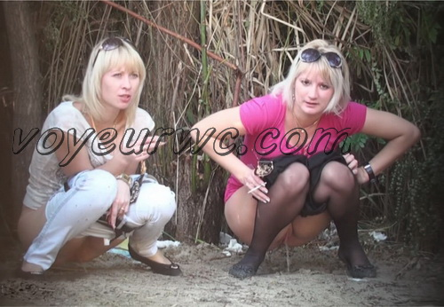 PissHunters 9107-9122 (Outdoor voyeur peeing. Voyeur public toilet spy cam)