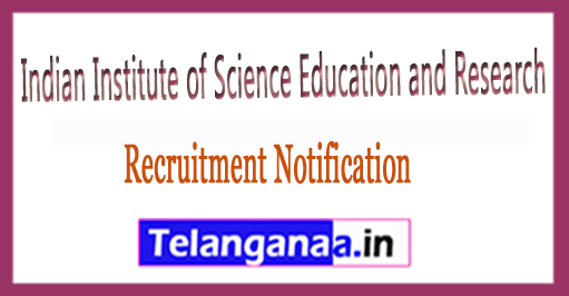 IISER Bhopal Recruitment – Indian Institute of Science Education and Research – Junior Research Fellow Vacancy Recruitment