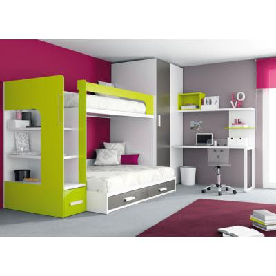Apuntes revista digital de arquitectura mobiliario de - Disenos de camas juveniles ...