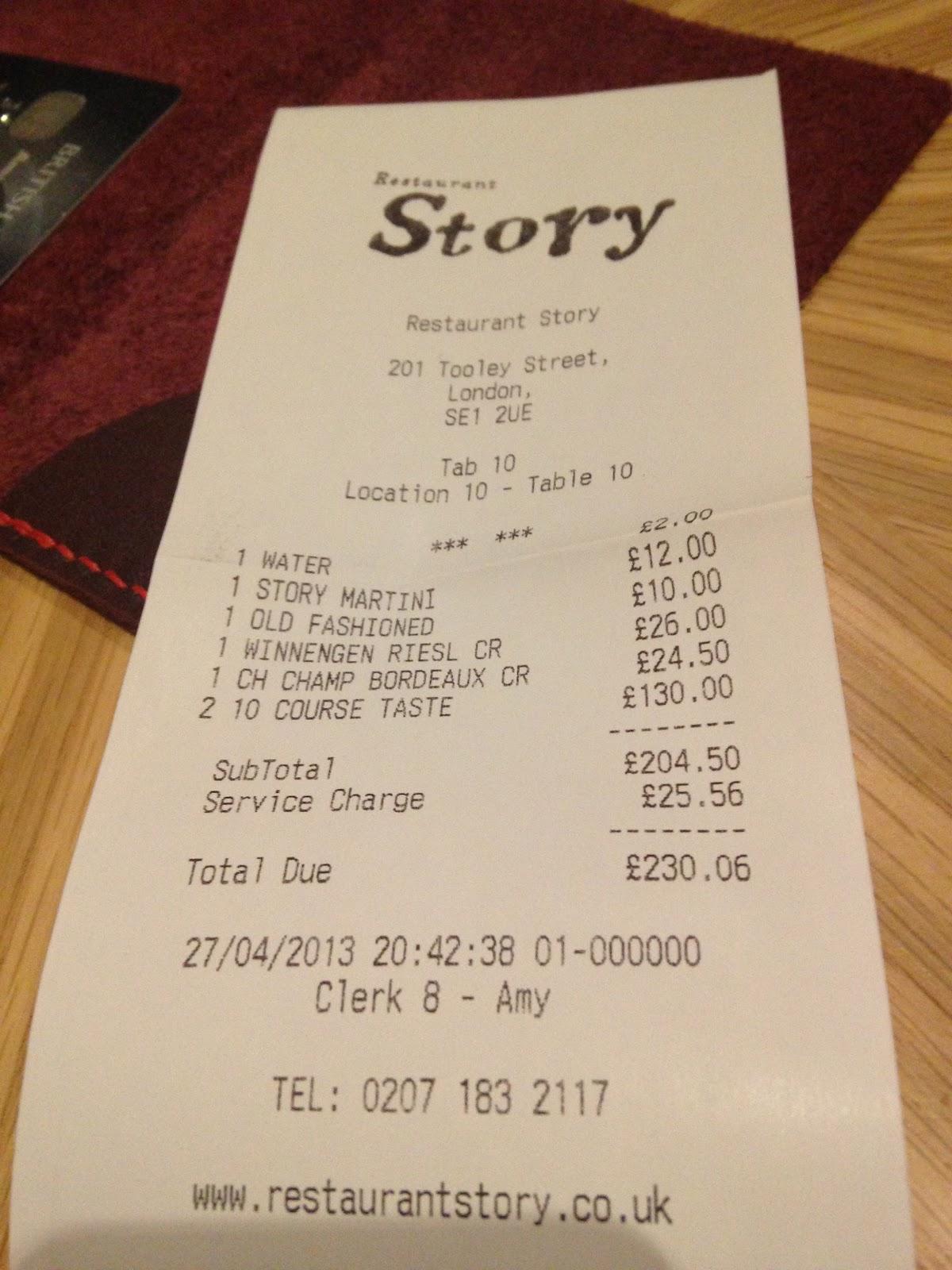 Restaurant Story Tooley Street