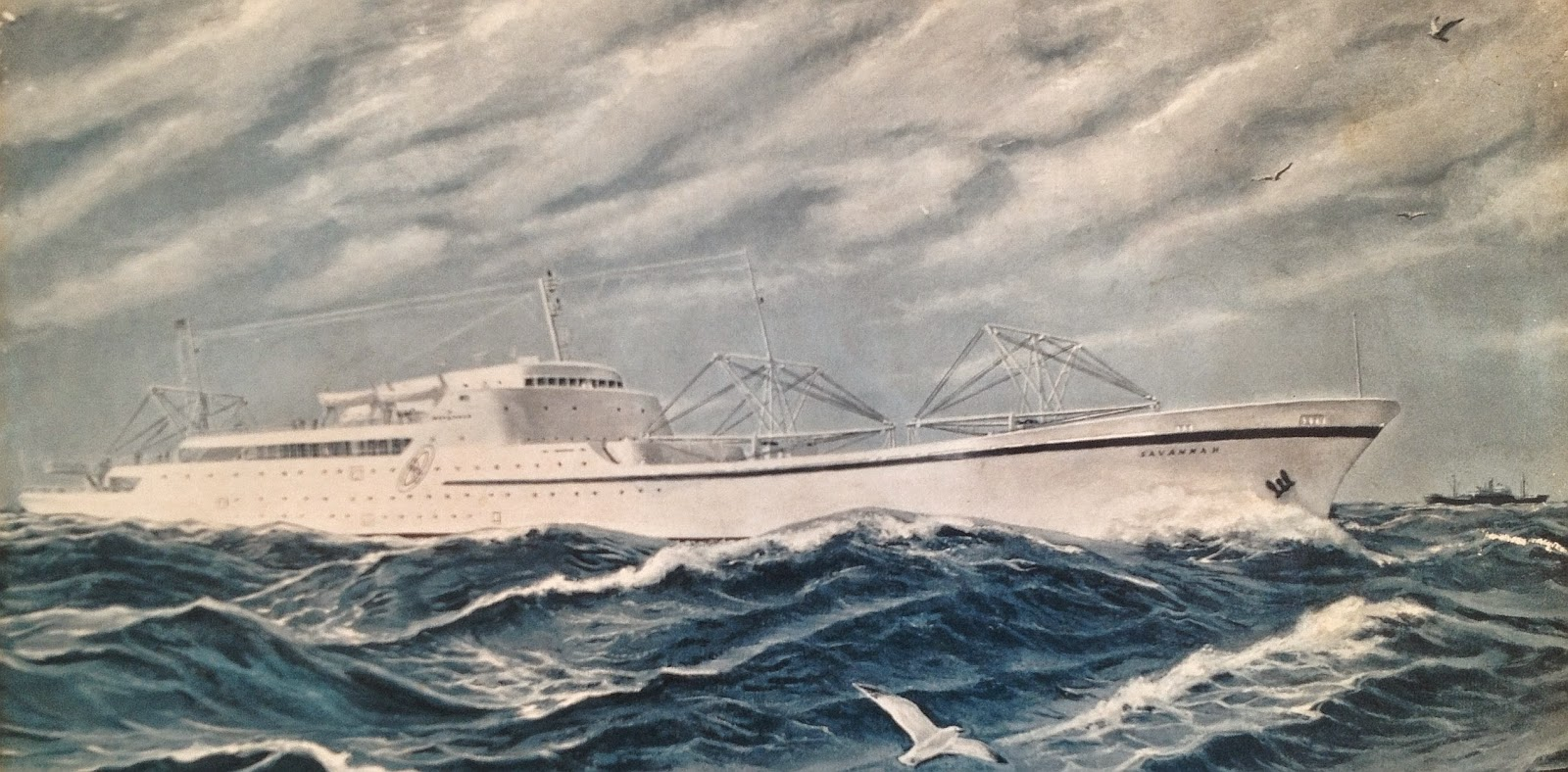 Atomic Power Review: BBC News On NS SAVANNAH