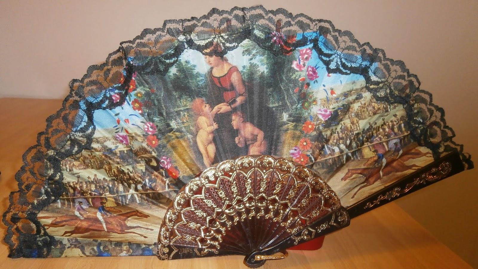 Ventagli Da Parete Decorativi minerva news : i ventagli: vere opere d'arte