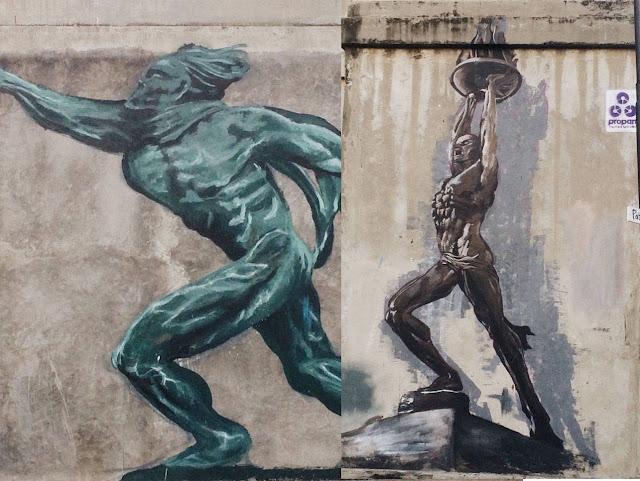 mural patung jakarta