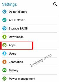 Cara Cek RAM HP Asus Zenfone