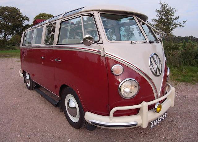 1967 21 Window Samba, Excellent 140 HP
