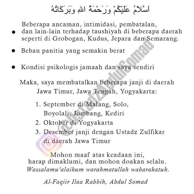 Ustadz Abdul Somad di Persekusi, Ini Pesan PBNU, Mentri Agama dan Dewan Masjid Indonesia