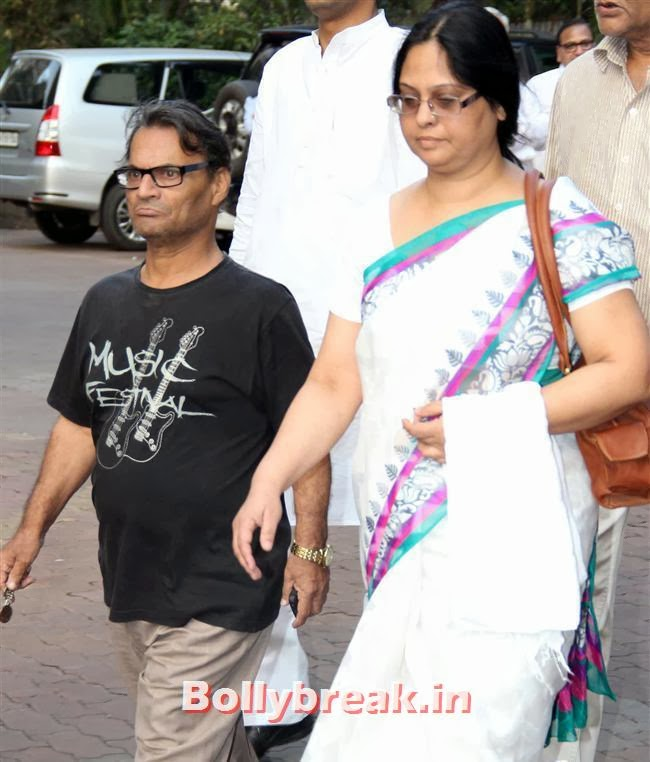 Liliput, Celebs at Farooq Sheikh Prayer Meet