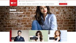 Mega Shop Free Blogger Template