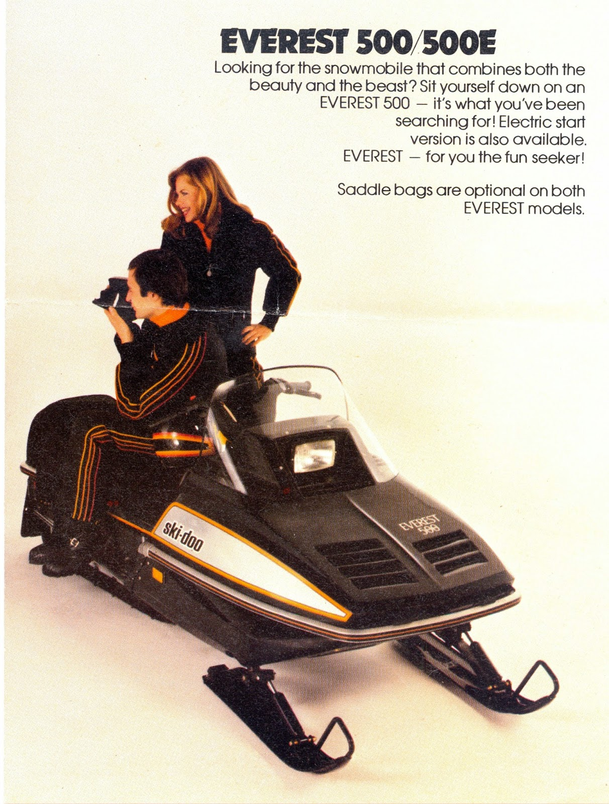 CLASSIC SNOWMOBILES OF THE PAST: 1982 SKI-DOO EVEREST 500