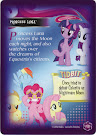 My Little Pony Princess Luna Equestrian Friends Trading Card