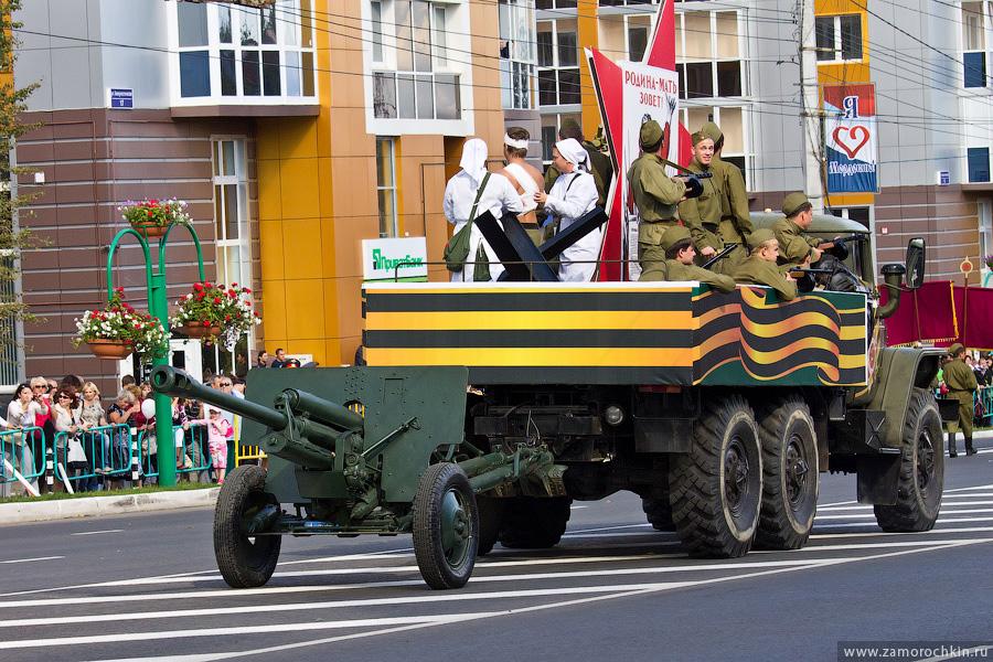 Сорокопяточка. Театрализованный марш-парад 'Все мы - Россия!'