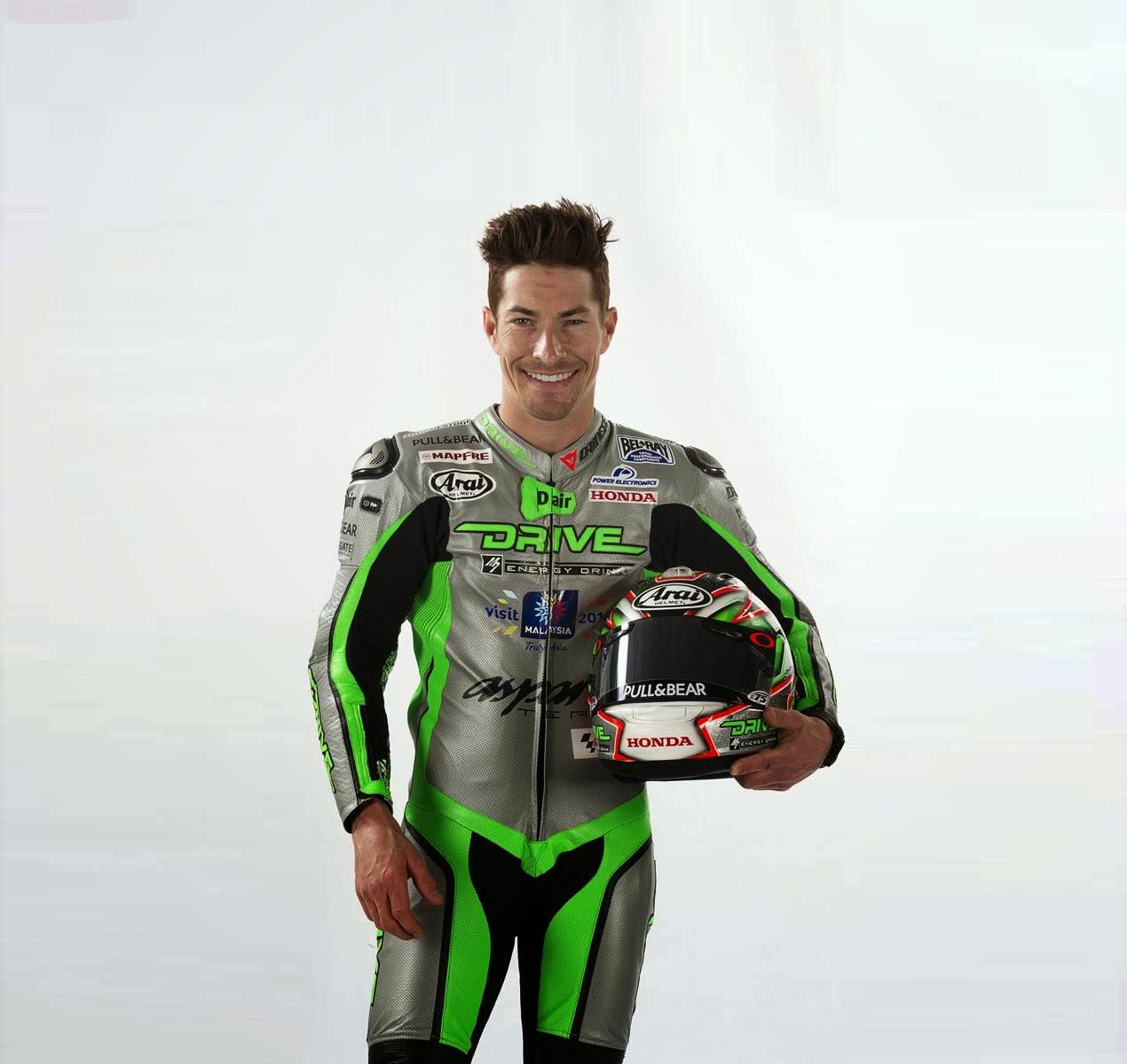 Nicky Hayden, dengan suit logo #VMY2014