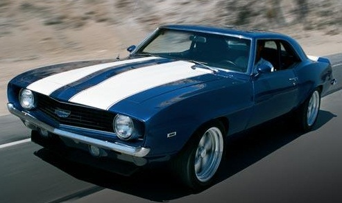 all about muscle car: 1969 chevrolet camaro most popular muscle car