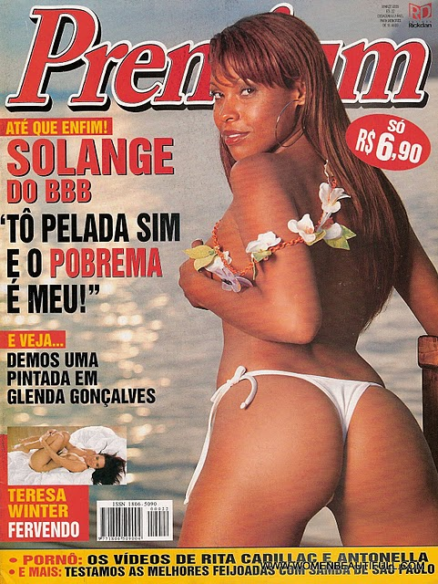 Big Brother Brasil 4, Solange pelada