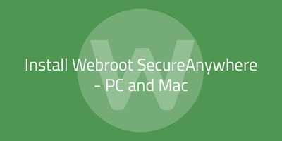 install webroot secureanywhere antivirus