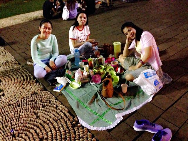 Piknik, Taman, Suropati, Mentreng, Malam