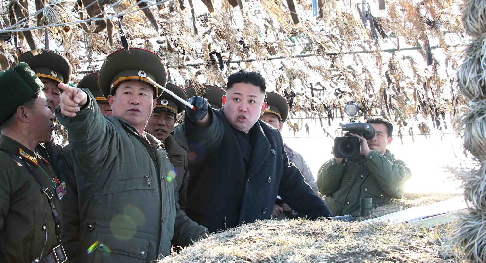 Coreia do Norte celebra força militar e envia mensagem a Trump