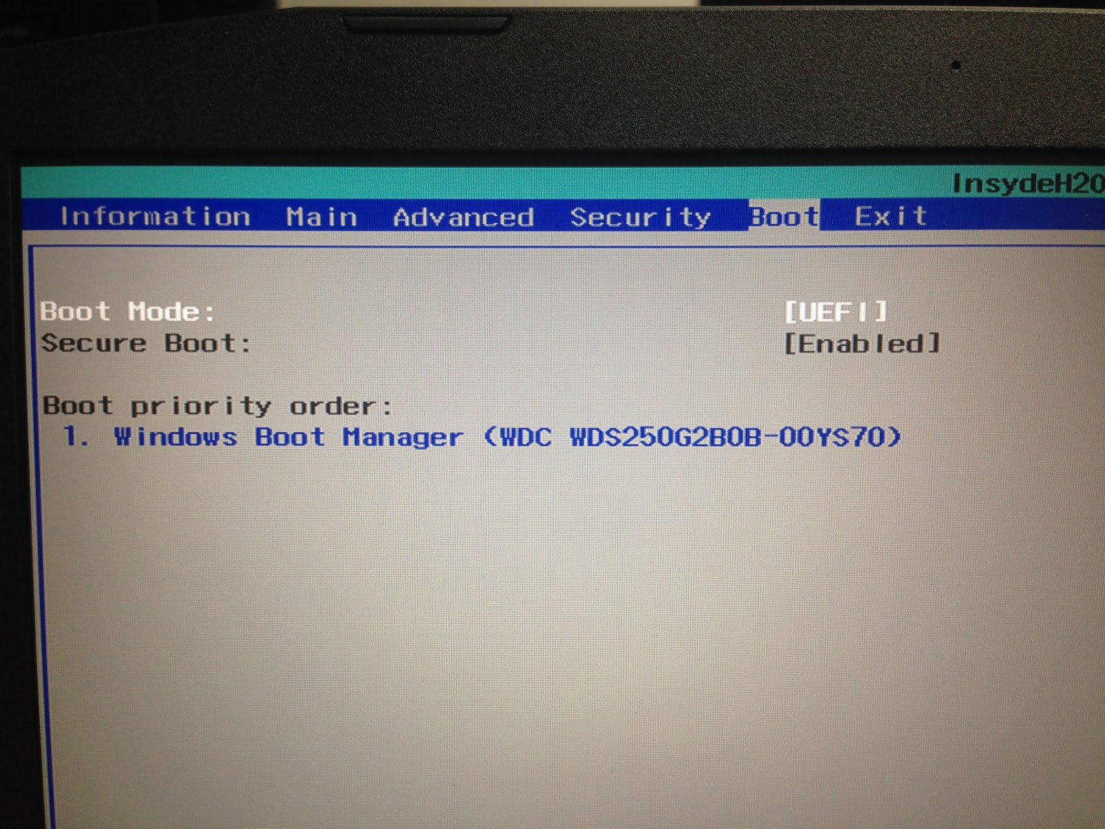 How to disable secure boot in uefi mode - IT Bolt