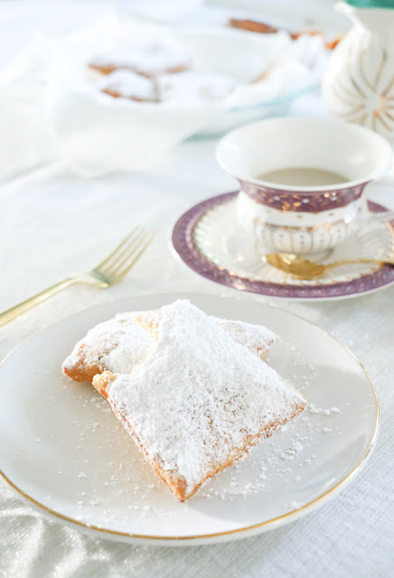 Daily Inspiration :: New orleans French Beignets Recipe :: Cool Chic Style Fashion