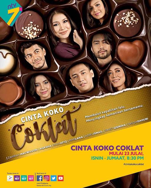 Drama Cinta Koko Coklat Lakonan Zahirah MacWilson dan Aqasha