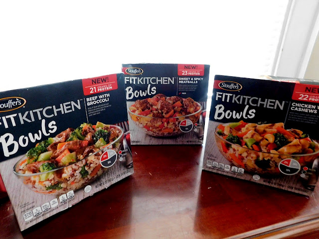 Bowl'd Away by Stouffer's New Fit Kitchen Meals