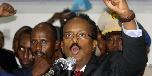 President Mohamed Abdullahi knows he faces a daunting task uniting Somalia