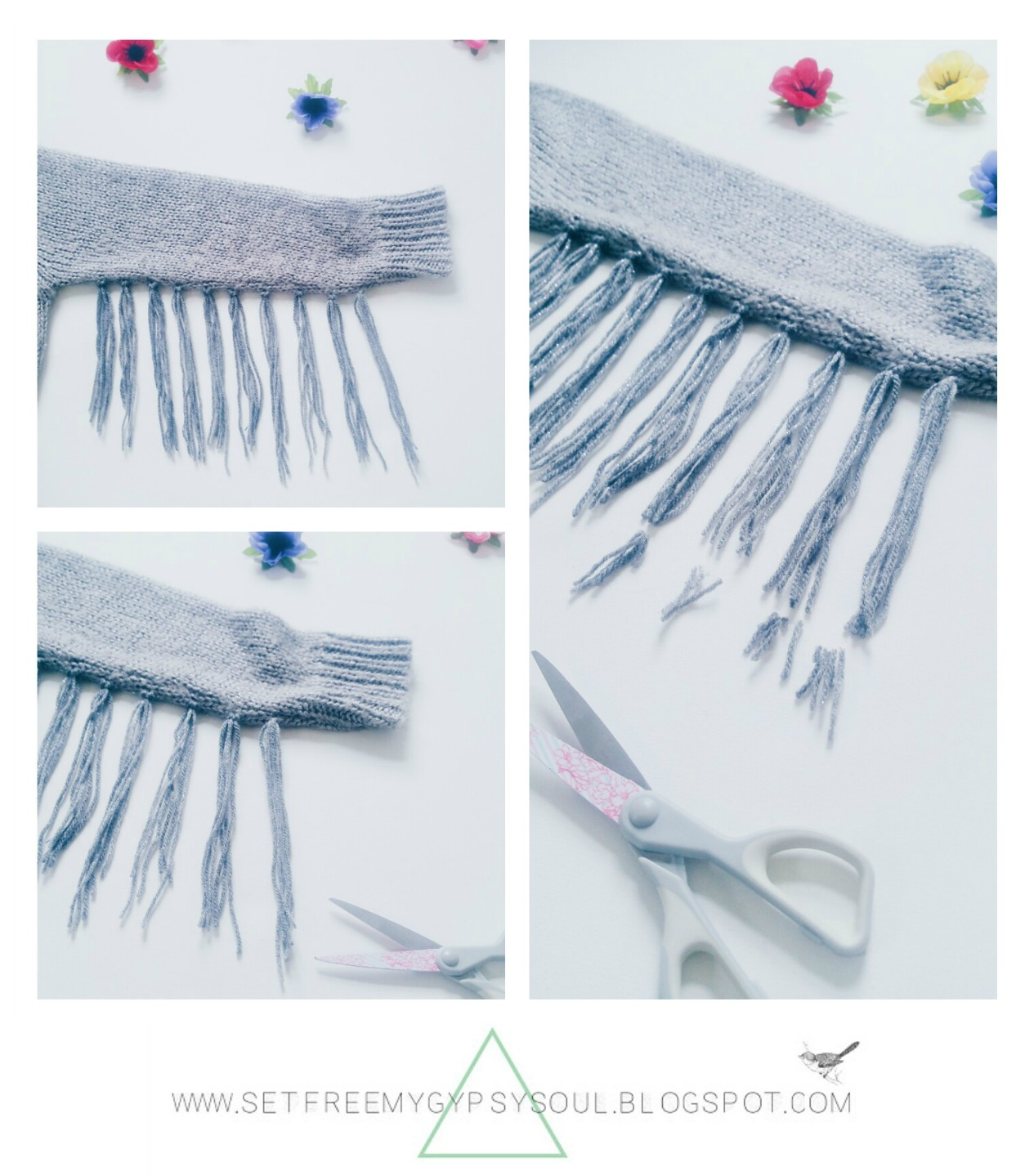 festival fashion how to make fringing tassel