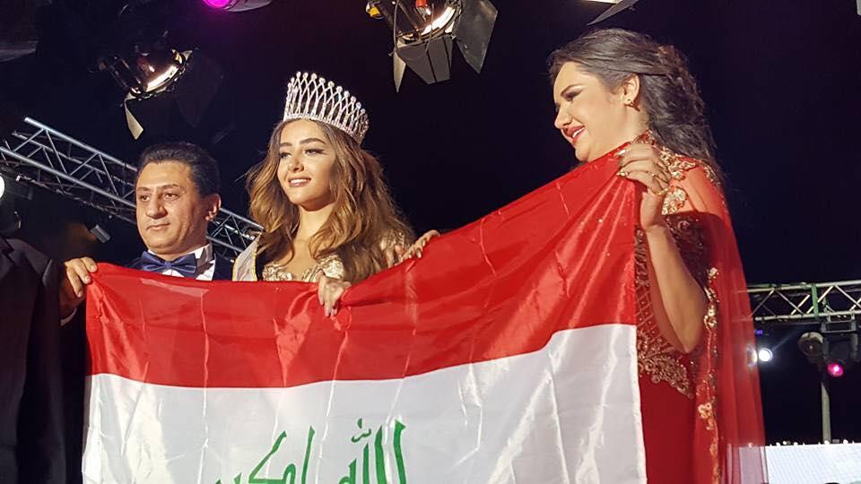 Miss Tourism Universe 2016 سبأ مبارك عراقيه وافتخر