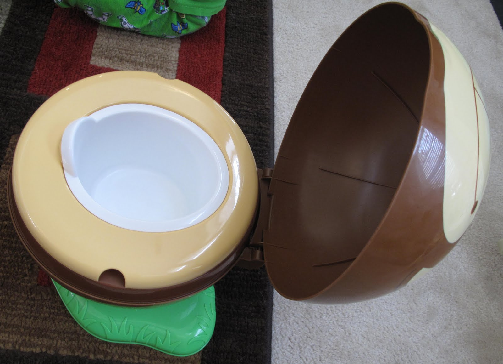 Safety 1st Potty Chair Metal Stacking Chairs Spring Fling Round Review And Giveaway