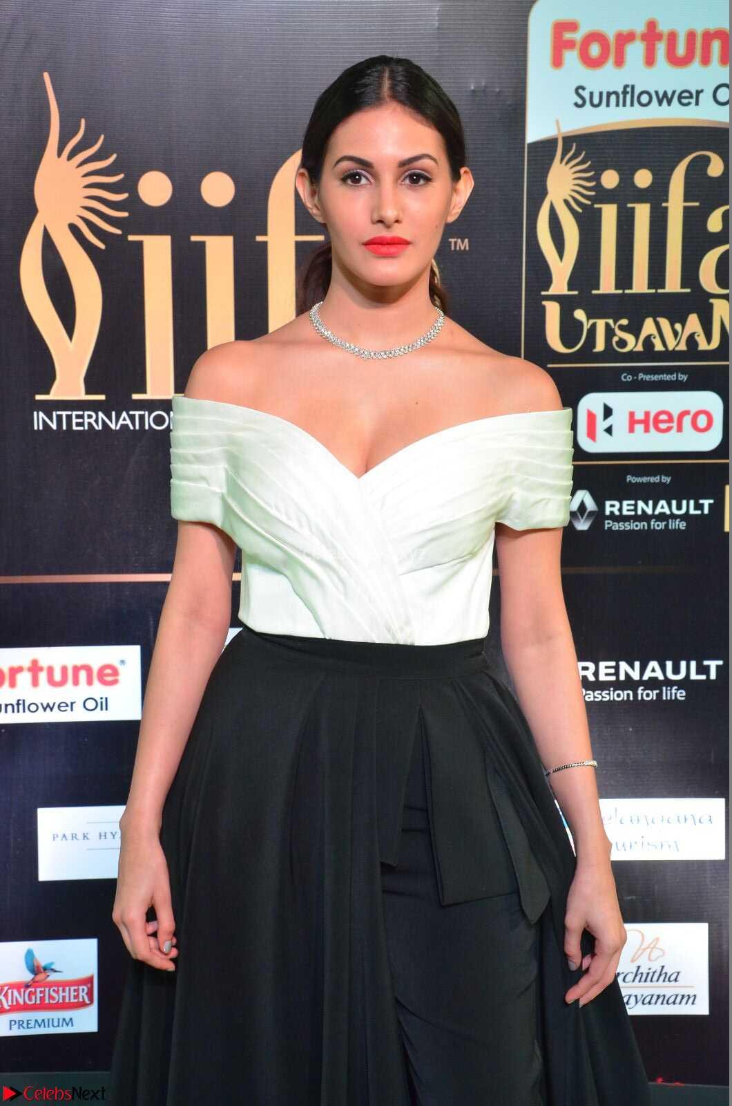 Amyra Dastur in Off Shoulder Deep neck  at IIFA Utsavam Awards 2017  Day 2 at CelebsNext.COM