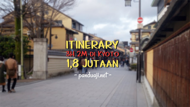 Itinerary Kyoto 3H 2M