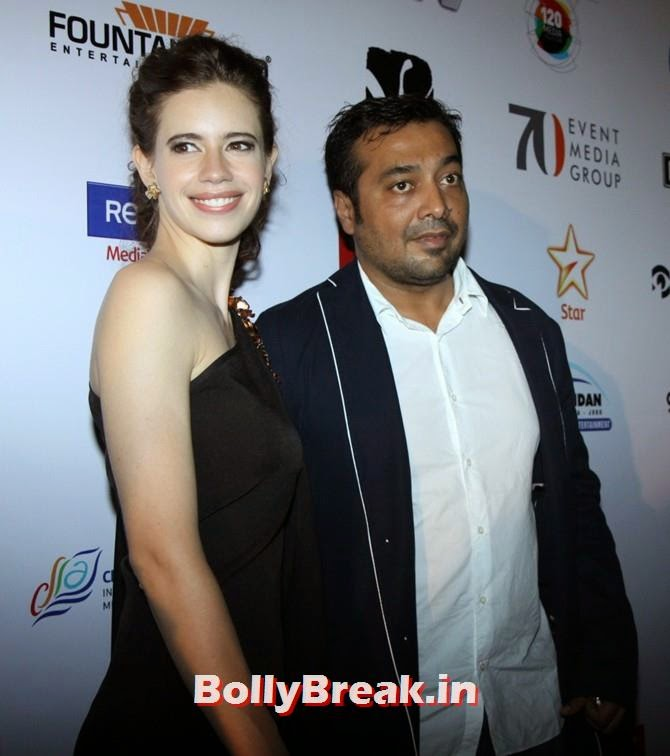 Kalki Koechlin, Anurag Kashyap, Mumbai Film Festival 2014 Photos