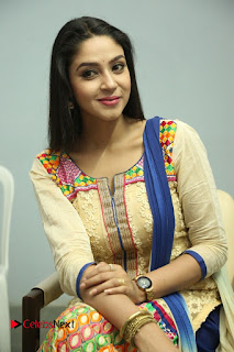 Actress Angana Roy Latest Picture Gallery in Salwar Kameez  0148