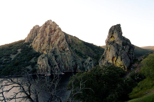 El salto del Gitano en Monfragüe