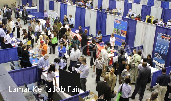 lamar kerja job fair