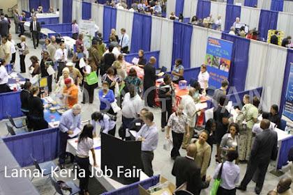 Cara Melamar Pekerjaan Lewat Job Fair (Bursa Kerja) Langsung Diterima