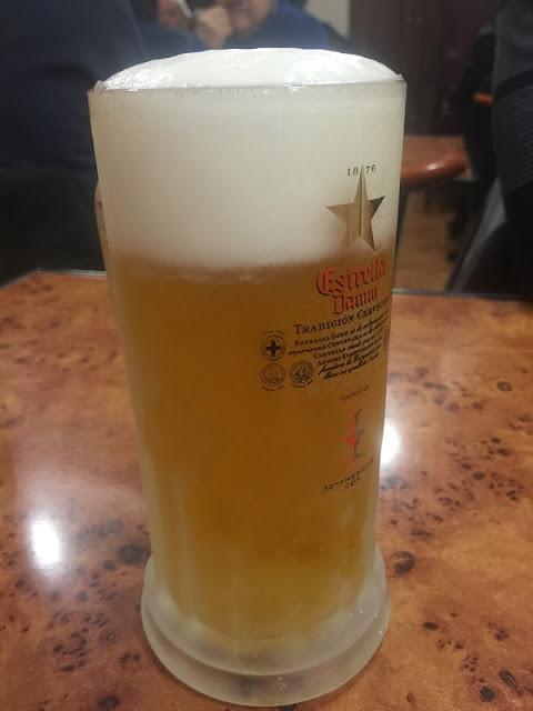 Mesón la Albufera - Cerveza muy fría