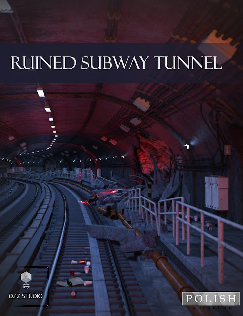 Ruined Subway Tunnel