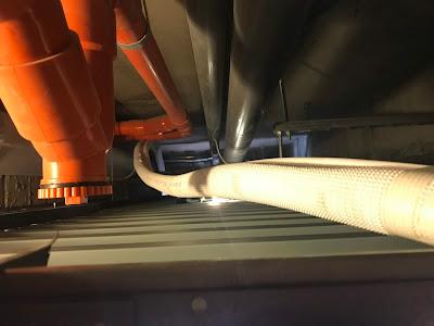 台中冷氣臣富空調拉銅管換排水