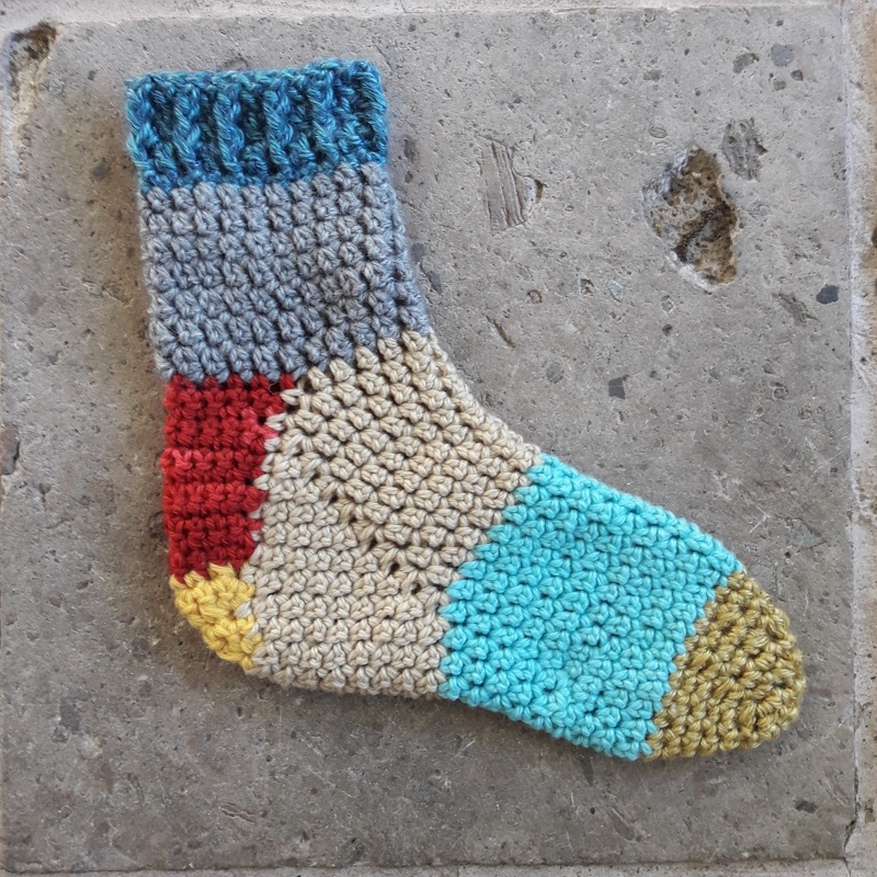 Crafty Escapism The Anatomy Of A Crochet Sock